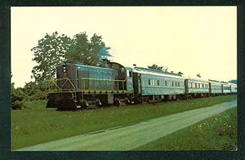 Bluebird Bailey Ohio Cloverleaf Route Passenger Train Toledo Railroad Postcard - Toledo Railroad