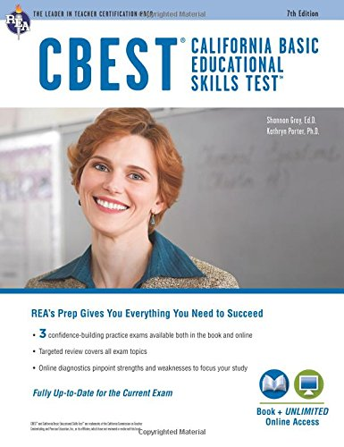 CBEST (California Basic Educational Skills Test) (CBEST Teacher Certification Test Prep)
