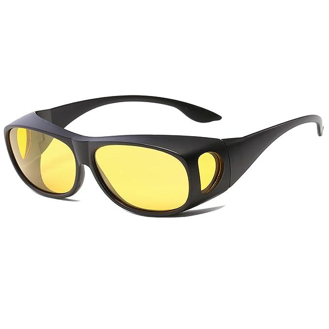 Hombres polarizados aptos sobre Gafas de sol con lente de conducción lateral Shield Copper Wrap Protection