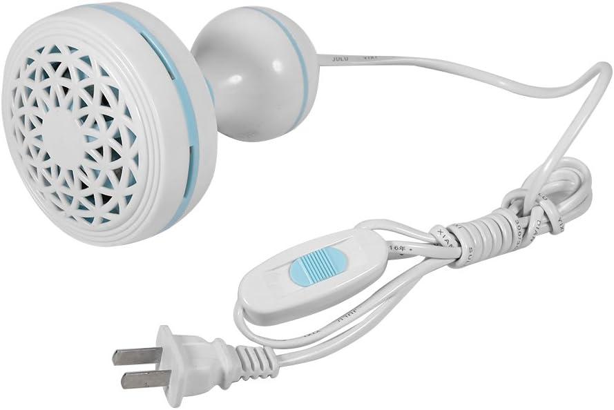 Camidy Mini Ventilatore a Soffitto Elettrico Anti-Zanzara Elettrico a Risparmio Energetico da 220V 8W 6 Pale per Dormitorio