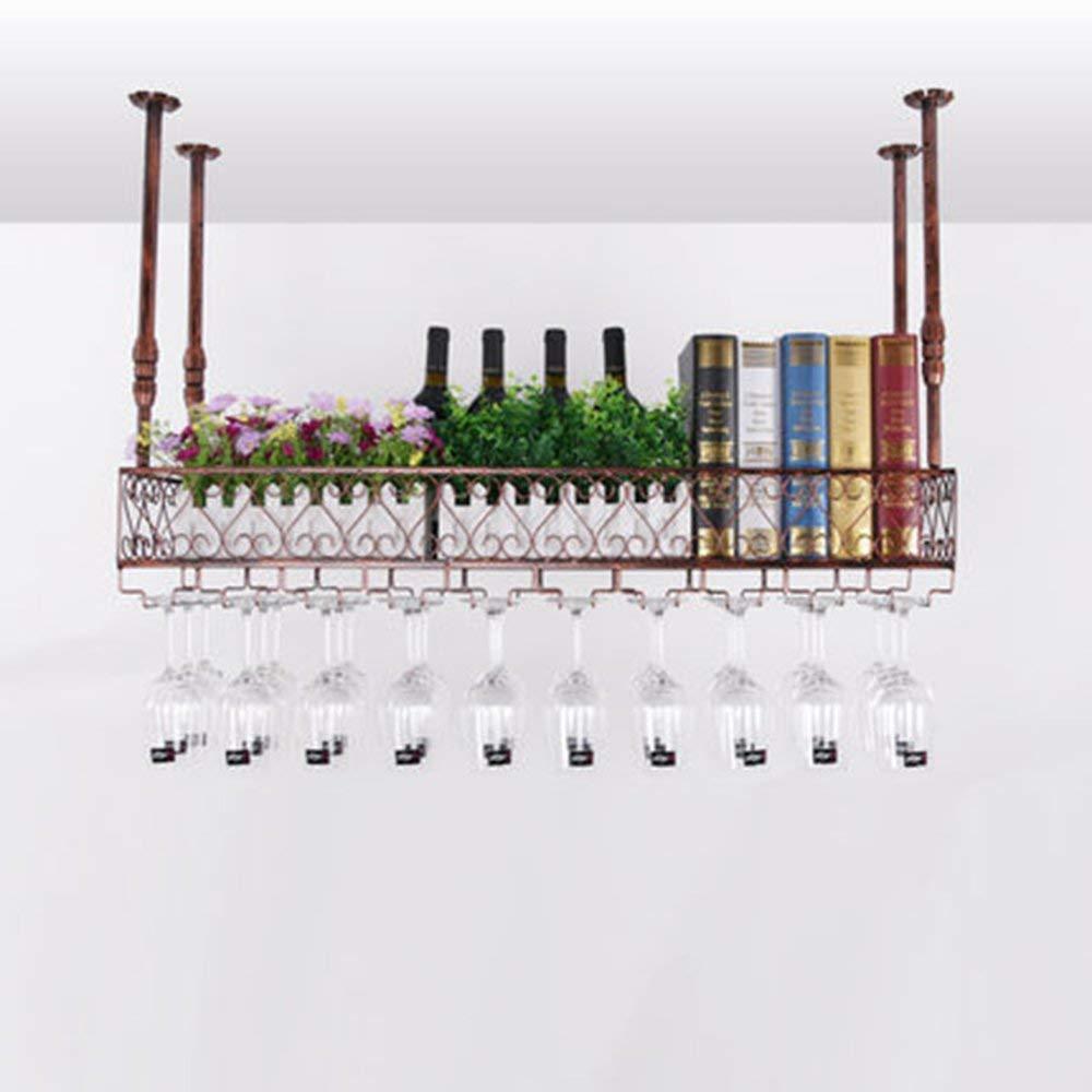 XixuanStore リビングルームのワインラック、レストランのワインラック、装飾的なワインラック、ワインラックワイングラスホルダーKtvぶら下げガラスホルダーCcomplimentにスペース (Color : 100cm*25cm) B07P9WK3SB 100cm*25cm