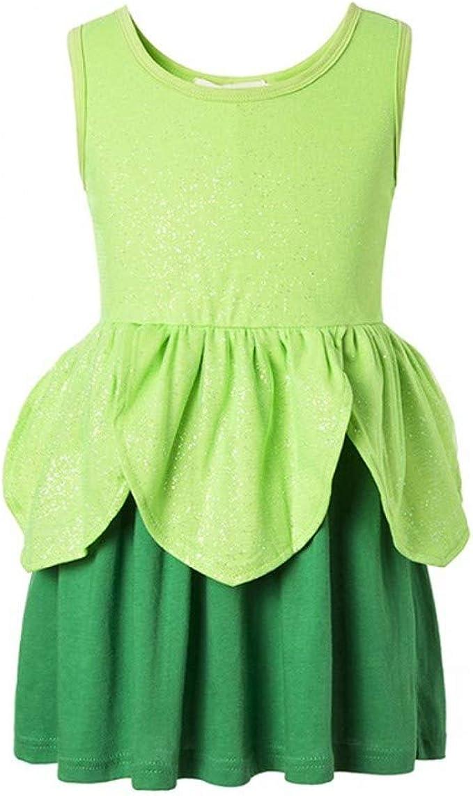 Amazon.com: Tinkerbell - Disfraz clásico para niña, diseño ...