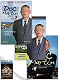 Doc Martin, Series 7 DVD + Doc Martin: Series 8 DVD + Doc Martin: Six Surly Seasons + The Movies DVD Box Set with Bonus DVD