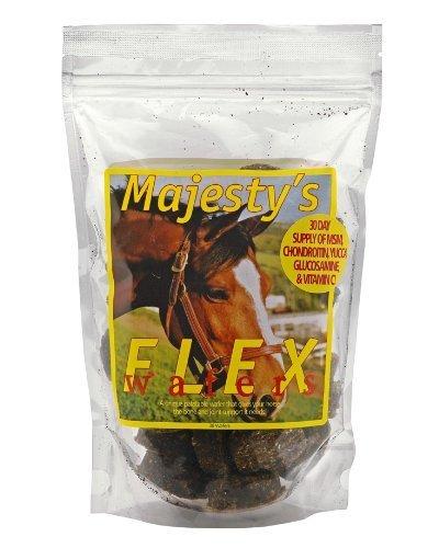 negozio online Majesty' S Flex Flex Flex wafer misto terapia per cavalli 30 count borsa di alimentazione degli animali delle Maestà  liquidazione