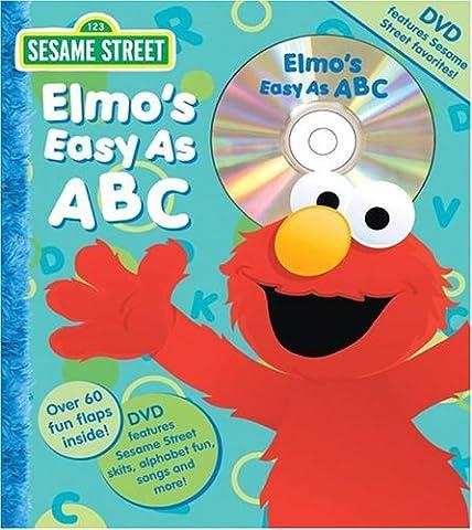 Sesame Street Elmo's Easy as ABC Book and DVD - Elmos Letter
