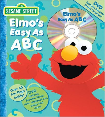 Sesame Street Elmo's Easy as ABC Book and DVD (Flap Book and DVD)