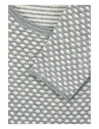 Grey Cecil Maglione Melange Mineral Donna 20327 Grau rwzFxrIAKq