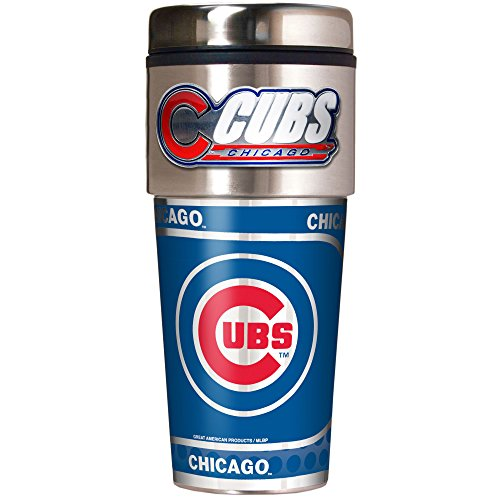 - MLB Chicago Cubs Metallic Travel Tumbler,  16-Ounce