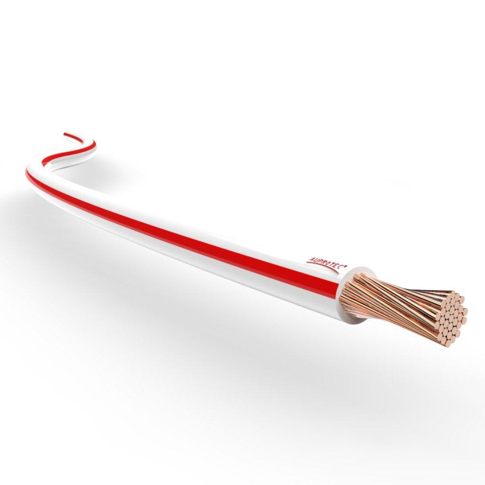 Cavo elettrico unipolare 0.35 mm² Filo elettrico per auto moto autocarro 5m o 10m selezione: (10m metri 0.35 mm² filo di rame, nero) AUPROTEC® Automotive Wires Auprotec-035