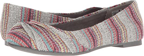 Rocket Dog Women's Myrna Grey Summer Jersey 9.5 M US (Rocket Slip On)
