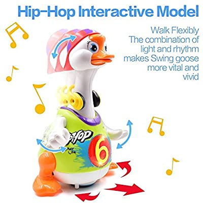 TOYK Baby Toys - Dancing Hip Hop Goose -Super Fun Toy- Musical Toys Educational Music Toys for Toddlers by TOYK that we recomend personally.