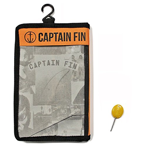 Captain Fin Co. CF-5-Fin large Single Tab/Futures Compatible Surfboard Fin, Black by Captain Fin Co. (Image #2)