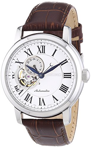 (Seiko Men's Analogue Automatic Watch with Leather Strap - SSA231K1)