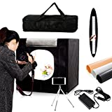 Professional 24''x24''x24'' Photo Lighting Studio Shooting Tents Box Kit for Photography Black