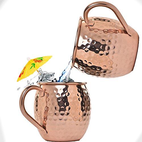 Beer Moscow Mule Copper Mugs
