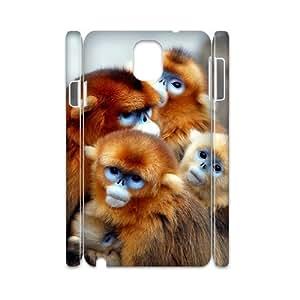 HOPPYS Diy case Monkey customized Hard Plastic case For samsung galaxy note 3 N9000