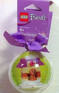 Amazoncom LEGO Friends Christmas Ornament 29 pcs Toys  Games