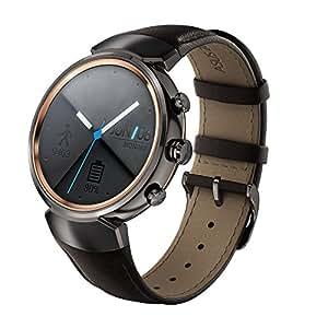 """ASUS WI503Q-1LDBR0004 1.39"""" AMOLED Acero inoxidable reloj inteligente - relojes inteligentes (Acero inoxidable, Acero inoxidable, Marrón, Cuero, Alrededor, 4 GB)"""