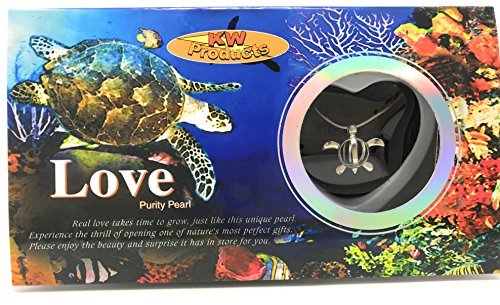 KW Products - Love Wish Pearl Kit - Harvest Your Own Pearl - Turtle Pendant ()