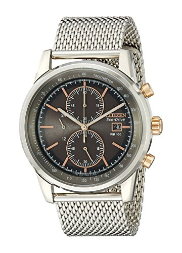 Citizen Men's CA0336-52H Stainless Steel Eco-Drive Watch
