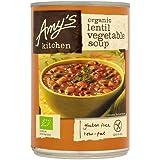 Amy's Kitchen Organic Lentil Vegetable Soup, 400g
