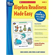 Algebra Readiness Made Easy: An Essential Part of Every Math Curriculum: Grade 4
