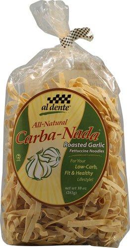 Al Dente Carba-Nada Roasted Garlic Fettucine Noodles -- 10 oz - 2 pc