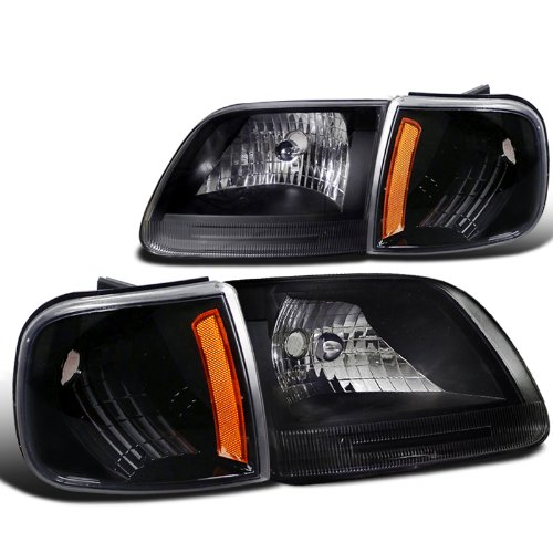 Ford F150 Black Head Lights, Corner Signal