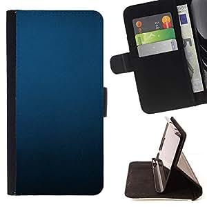 For Samsung Galaxy S6 Case , Uniforme Minimalista Negro Pastel- la tarjeta de Crédito Slots PU Funda de cuero Monedero caso cubierta de piel