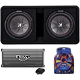 Best Shopping Kicker 43dcwr122 12 2000w Car Subwoofers Subs Box 4000 Watt Mono Amp Wiring