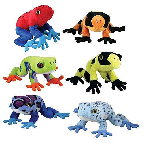 Cuddle Zoo, Tree Frogs (6-Piece Set)