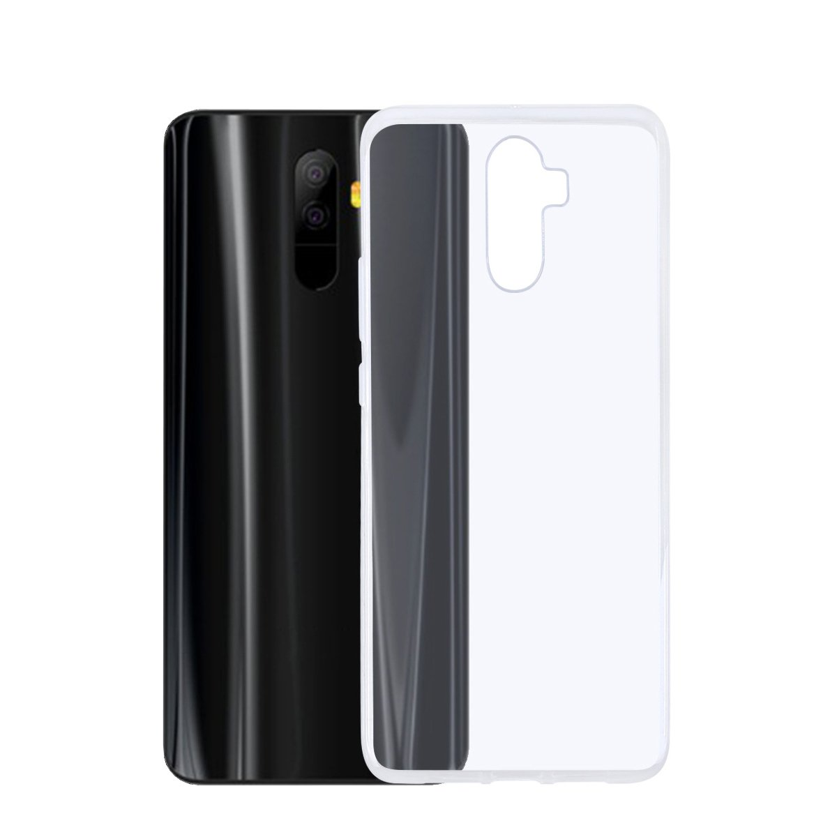 T&R Elephone U Pro Funda, Transparente TPU Silicona Case Cover ...