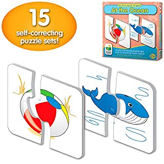 The Learning Journey: My First Match It - At the Ocean - 15 Self-Correcting Matching Puzzles