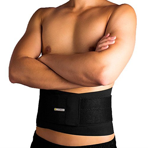 Bracoo Adjustable Back Brace,Breathable,Firm Support for Lower Back Strain,Large/XLarge