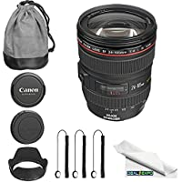 Canon EF 24-105mm f/4L IS USM Lens + Expo Cleaning Cloth
