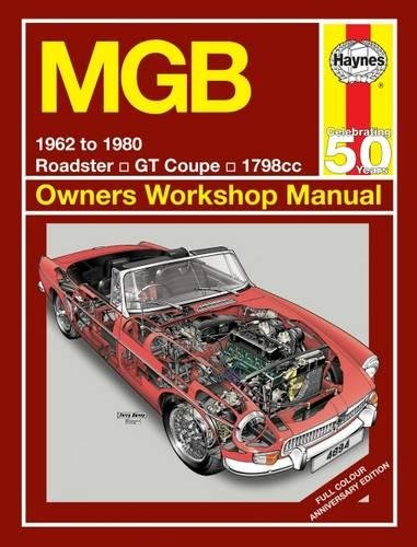 『MGB 1962 To 1980 (Haynes Owners Workshop Manual)』(J H Haynes & Co Ltd)