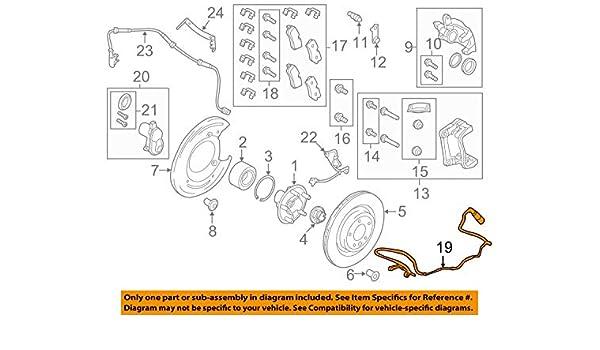 ZM Brake Wear Sensors for 2006-2013 Land Rover Range Rover Sport Front Rear