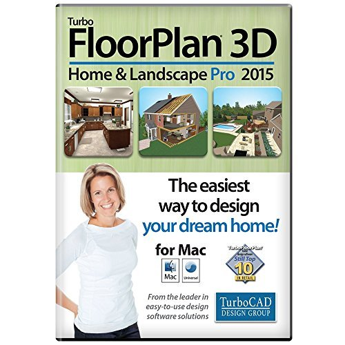 TurboFLOORPLAN Home & Landscape Pro Mac 2015 [Download] by TurboCAD Design Group