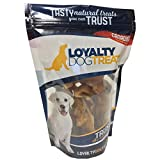 Loyalty Dog Treats Pig Ears Strips | All Natural, Single Ingredient, Canadian, Dehydrated Chew | Made in Canada | 150g