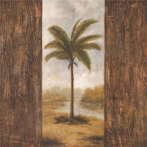 ['Coconut Tree' Oil Painting, 10x10 Inch / 25x25 Cm ,printed On High Quality Polyster Canvas ,this High Resolution Art Decorative Prints On Canvas Is Perfectly Suitalbe For Kitchen Gallery Art And Home Artwork And Gifts] (Stock Coconut Shell Necklaces)