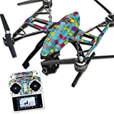 MightySkins Protective Vinyl Skin Decal for Yuneec Q500 & Q500+ Quadcopter Drone wrap cover sticker skins Bright Stones