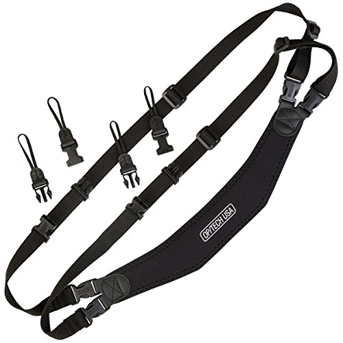 OP/TECH USA Utility Sling Duo - Shoulder Sling for Two Cameras by OP/TECH USA
