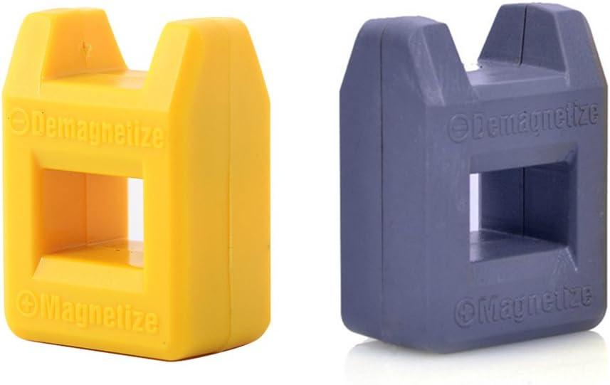 Outletdelocio. Pack 2 Unidades. Magnetizador-Desmagnetizador de Destornilladores y Puntas. Imantador-desimantador. 25x40x14mm. 2-26055: Amazon.es: Electrónica