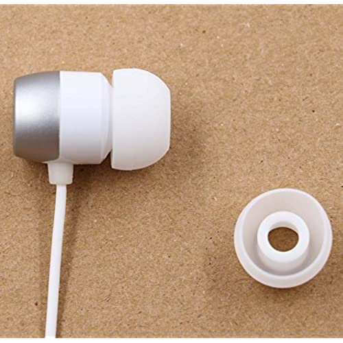 60%OFF ALXCD Eartip for LG HBS Earphone, 3 Sizes (S M L) 6 Pair Silicone Replacement Ear Tip, Fit for LG HBS 730 750 770 HBS-800 810 900 910 Tone Pro Ultra Infinim Plus (6 Pair/White)