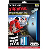 Xtreme Survival Durable Protection Case for iPad mini - Retail Packaging - Blue