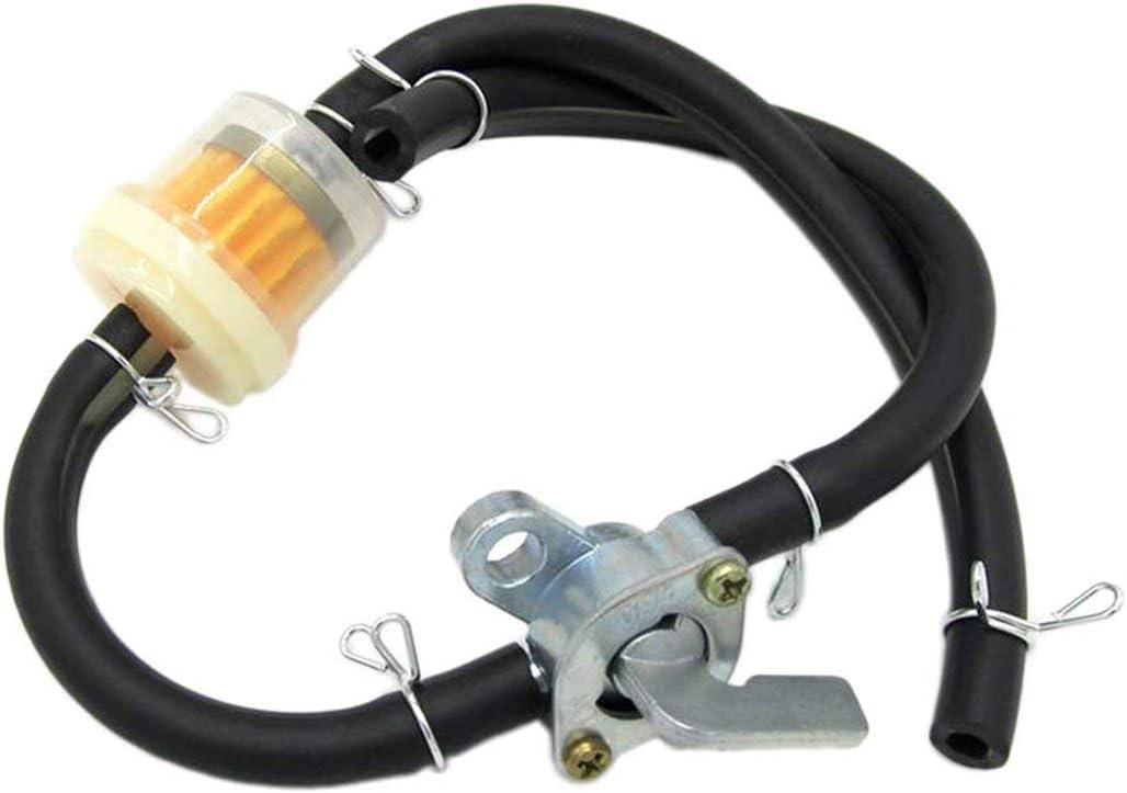 Lodenlli Grifo de Combustible Universal Grifo de Combustible Interruptor de Gasolina Motores de Gas Tanques de Combustible Grifo de Gasolina Grifo para generadores