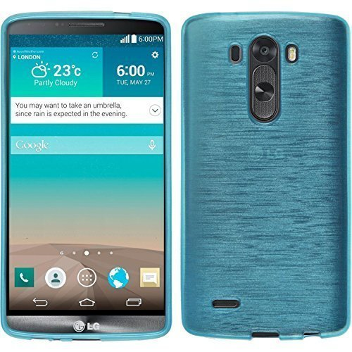 LG G3 Case, bdeals Glossy Outer Brushed Flexible Soft TPU Slim Fit Case Protective Skin for LG G3 2014(Not Fit For LG G3 S, Beat and Vigor)
