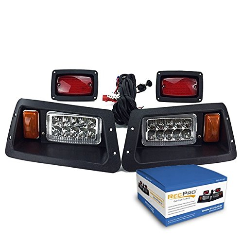 NEW YAMAHA G14 G16 G19 22 LED HEAD LIGHTS & LED TAIL LIGHTS GOLF CART LIGHT KIT