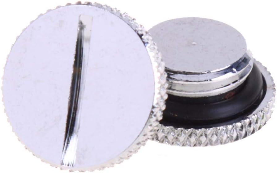 PrinceShop 2pcs//set G1//4 Thread Low Profile Water Cooler Plug for PC CPU Cooler Cooling Radiator Reservoir Water Sealing Ring