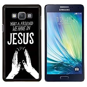 Dragon Case - FOR Samsung Galaxy A7 - we have in jesues - Caja protectora de pl??stico duro de la cubierta Dise?¡Ào Slim Fit